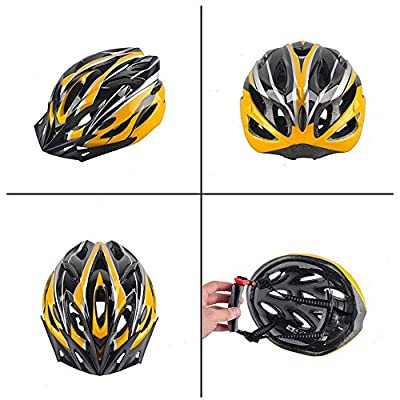 Hoovo Bicycle Helmet With Adjustable Lightweight Mountain Bike Racing Helmet for Men and Women by Hoovo