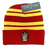 Harry Potter Mütze Beanie Gryffindor House Crest Logo Patch Nue offiziell