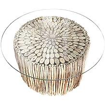 Treibholz Couchtisch NATURES ART 80cm Handarbeit Tisch Holztisch Beistelltisch Wohnzimmertisch