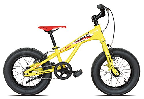 FAT BIKE TORPADO BICICLETA 16 FAT SHARK ACERO 1 V AMARILLO (FAT)/BICYCLE FAT BIKE FAT SHARK 16 STEEL 1 V YELLOW (FAT)