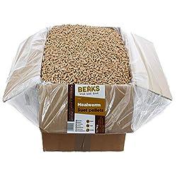 BEAKS wild bird food MEALWORM Suet feed Pellets 12.75kg Box free p&p