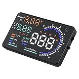 5.5'' Universal Auto Car LCD HUD Head Up Display System OBD II Diagnose-Werkzeug KM RPM/Geschwindigk