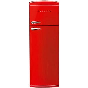 AuBergewohnlich Oranier RKG 2 Standgerät Kühl Gefrierkombination Rot Kühlschrank  Kühlkombination