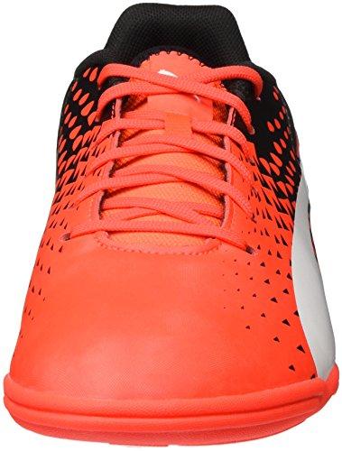 Puma Evospeed Sala Graphic, Chaussures de Football Compétition Homme Rouge (Red blast-White-Black 01)