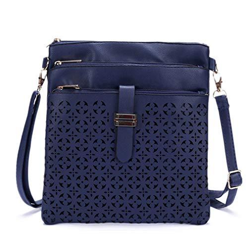 Kleine Tasche Frauen Messenger Bags Umhängetasche Navy Blue One Size