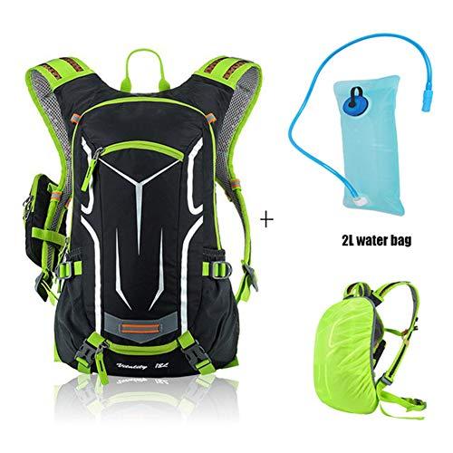 Ssszx - Mochilas para Bicicleta 18 L, Impermeables, ultraligeras, para Hombre, Mochila de hidratación...