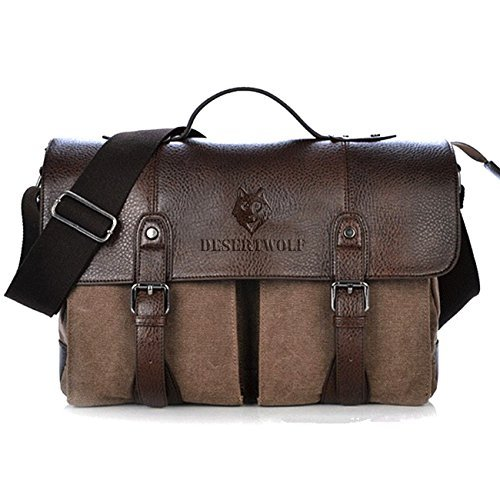 desertwolf-canvas-pu-leather-vintage-cross-body-messenger-bag-briefcase-fit-133-inch-laptop