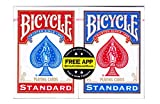 The United States Playing Card Company Bicycle Mazzo Standard Confezione Doppia, CAR2867