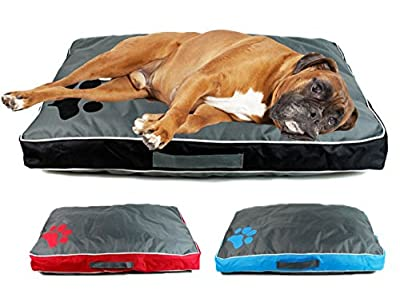 GEEZY Waterproof Dog Pet Cat Bed Mat Cushion Mattress Double Sided Washable Cover by MTS