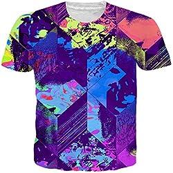Camiseta Multicolor 3D