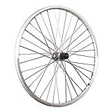 Taylor-Wheels Laufrad 26 Zoll Hinterrad Ryde Zac19 Shimano Deore FH-M530 silber
