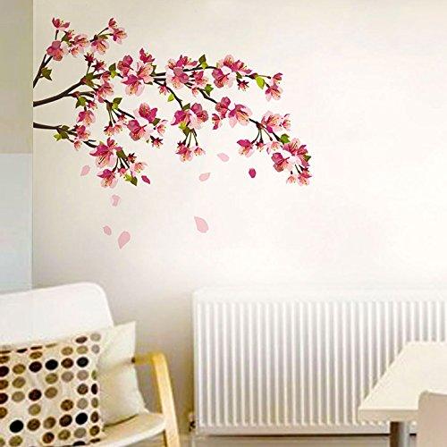 Decals Design 'Sakura Cherry Blossom' Wall Sticker (PVC Vinyl, 70 cm x...