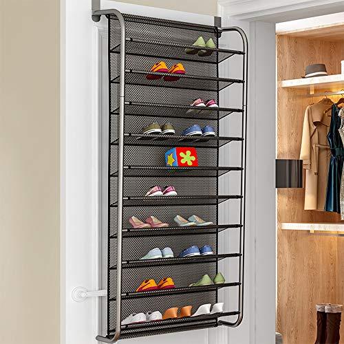 Schuhregal für Tür Urijk Schuhorganizer über der Tür Türschuhregal zum Hängen Aufbewahrung und Ordnungssysteme für 36 Paar Schuhe