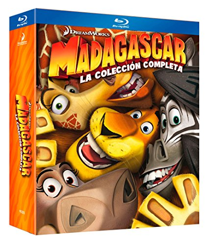 Madagascar (Trilogía) [Blu-ray] 51Ah4KbKipL