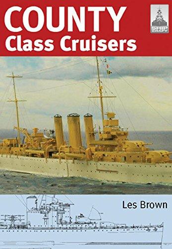 Shipcraft 19 - County Class Cruisers por Les Brown