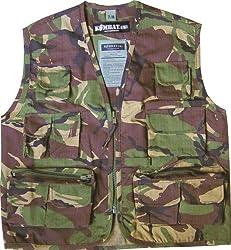 Highlander Kids - Camouflage Ranger Vest - Camo - Age 13-14
