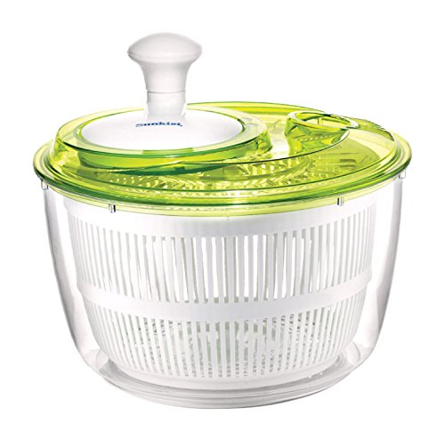 sunkist-5-quart-salad-spinner-with-easy-turn-knob-green-clear-sap3915-by-sunkist
