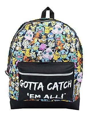 Pokemon GOTTA CATCH 'EM ALL Oficial Mochila Bolsa Escuela Correas Ajustables de William Lamb