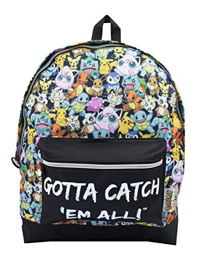 Pokemon muss alle großen Kinder Kinderrucksack Schultasche fangen