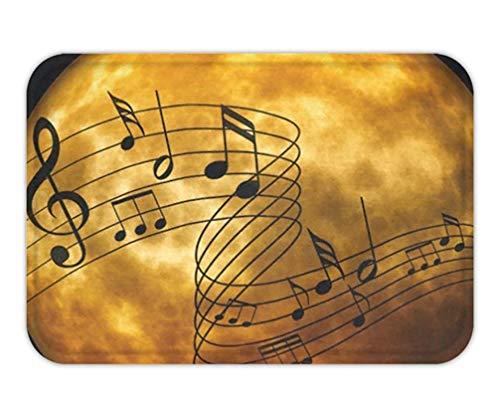 Trsdshorts Doormat Halloween Moon Music Cotton Linen x.jpg (Für Halloween Loofahs)