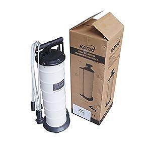Bomba extractora manual Katsu, con capacidad de 7 litros para agua, aceite o petróleo