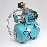 Hauswasserwerk 50 Liter Membrankessel mit Manometer + 5-stufige Pumpe MHi1800 Förderleistung 9000l/h + Trockenlaufschutz SK-13.
