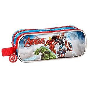 51Ah8QrqfyL. SS300  - Los Vengadores Avengers Clouds Neceser de Viaje, 23 cm, 1.45 litros