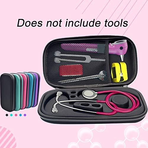 Stethoskop, Hartschale, Pod Technical Classicpod EVA Tragetasche, Aufbewahrung, Organizer Box Tasche Netztasche Zubehör, schwarz