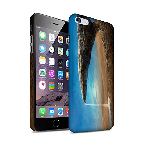 Offiziell Chris Cold Hülle / Matte Snap-On Case für Apple iPhone 6+/Plus 5.5 / Exoplanet Muster / Galaktische Welt Kollektion Exoplanet