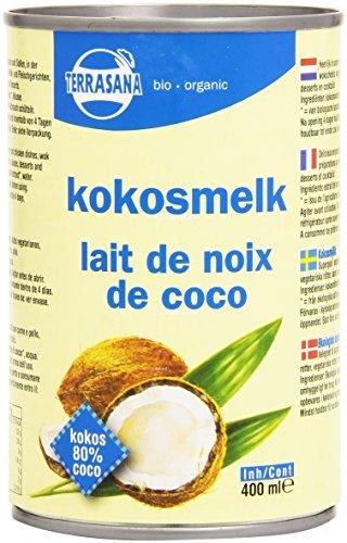 Terrasana Lait de Coco 22% Matières Grasses Bio 400 ml