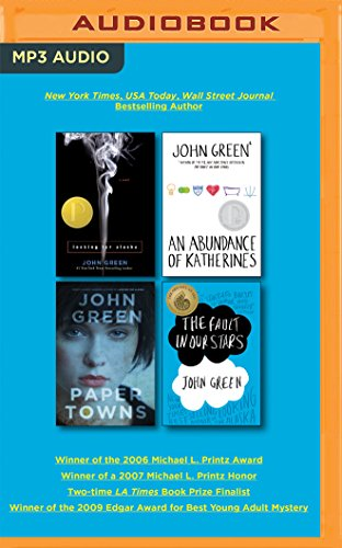 John Green Box Set: Looking for Alaska, an Abundance of Katherines, Paper Towns, the Fault in Our Stars