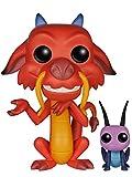 Funko - POP Disney - Mulan - Mushu & Cricket