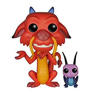 POP Mushu and Cricket Vinyl Figure