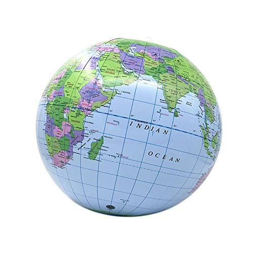 Aufblasbare Weltkugel Erde Karte Geographie Lehrer Hilfe Ball Spielzeug Geschenk 40 cm / 16in