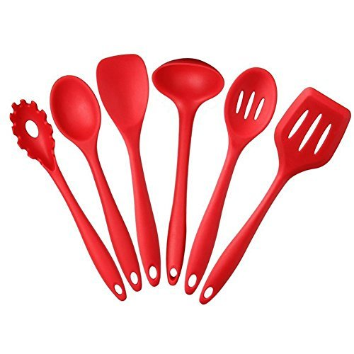 6-piece-silicone-cooking-set-red