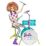 Mattel-barbie Barbie und die Rocker Puppe & Drum