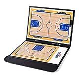 Coaches Marker Board Basketballboard bunt 2,5 faltbar Basketball Zubehör Coach Board magnetisch mit Stift Draft The Perfect Play, PVC, einfarbig, 53 * 31cm