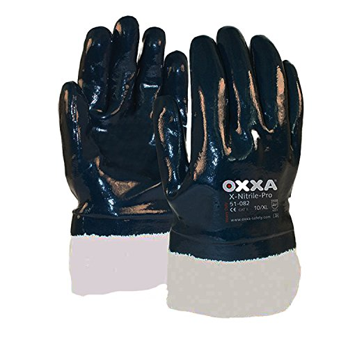 Oxxa 1 51 082 09 Handschuh X-Nitrile Pro Stulpe geschlossen Größe 9