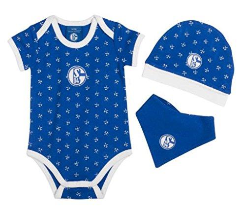 FC Schalke 04 Baby Set Königsblau, Größe:50/56