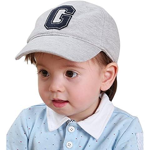 Happy Cherry - Gorra de sol Confortable de Niños Gorra de Béisbol Infántil Verano para Niña Niño Bebé