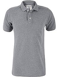 1185b790 Kukri Athletic Fit Short Sleeve Mens Polo Shirt - Grey
