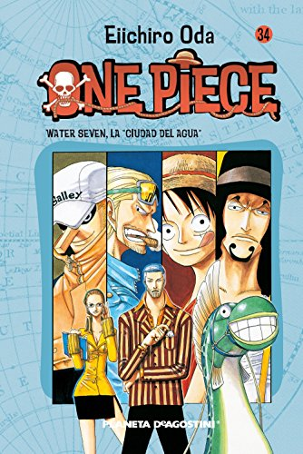 One Piece nº 34: Water Seven, la Ciudad del Agua (Manga Shonen)