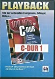 100 Hits In C-Dur Band 1 (5 Playback-CDs). Für Gesang