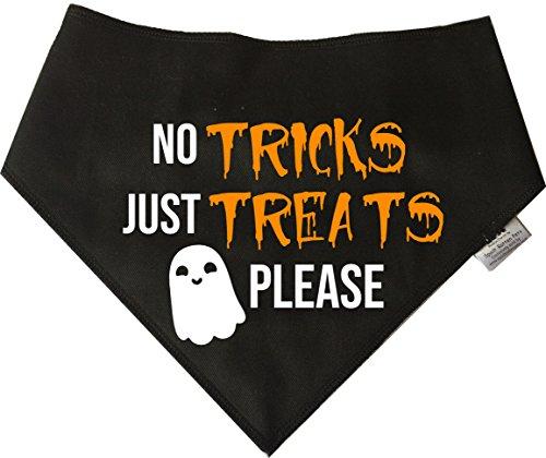 (Spoilt Rotten Pets Hund Bandana–(S2) Halloween 'Nur' Vier Größen erhältlich für Tiny Chihuahuas auf Extra große Neufundland (Kleine Hunde))