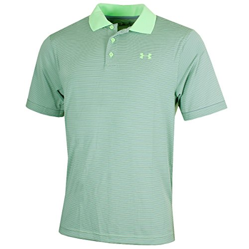 Under Armour Herren Performance Polo Novelty Kurzarmshirt, Lumos Lime, LG (Lg Polo Performance)