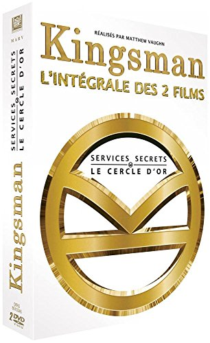 Kingsman : Services secrets + Kingsman 2 : Le Cercle d'Or