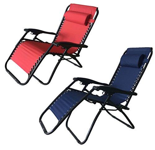Poltrona sedia sdraio pieghevole reclinabile lettino relax giardino mare esterno - colori assortiti