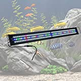 "ReaseJoy 116cm Multi-Color 156 SMD5730 LED Aquarium Light Over-Head Lamp for 115-127cm (45""-50"")"
