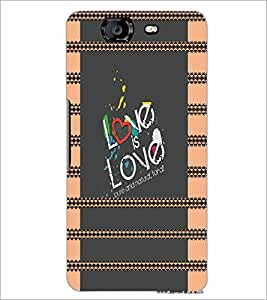 PrintDhaba Quote D-4933 Back Case Cover for MICROMAX A350 CANVAS KNIGHT (Multi-Coloured)