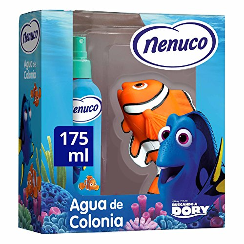 Nenuco Pack Agua de colonia Infantil Bebé Dory con Muñeco Nemo 175ml